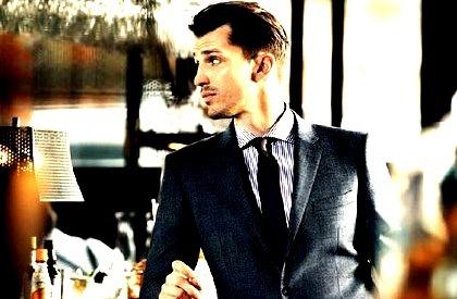 Mens Fashion Model Suit