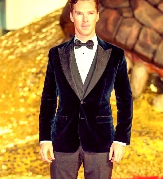Benedict Cumberbatch in Dolce & Gabbana